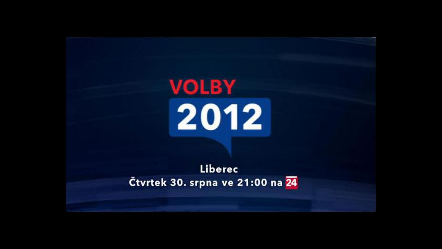 Video Upoutávka na volební vysílání z Liberce