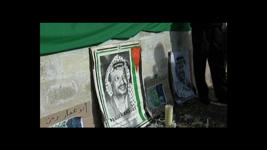 Video Francouzi prošetří záhadnou Arafatovu smrt