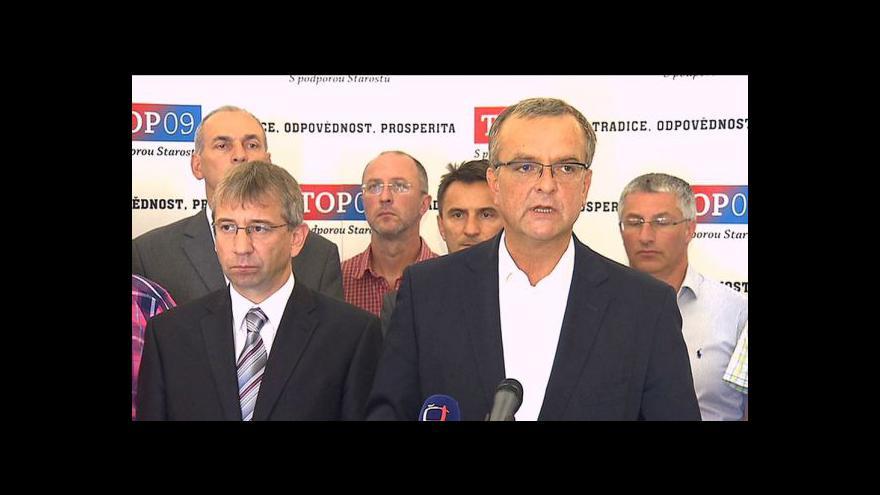 Video Vyjádření Jaromíra Drábka a Miroslava Kalouska
