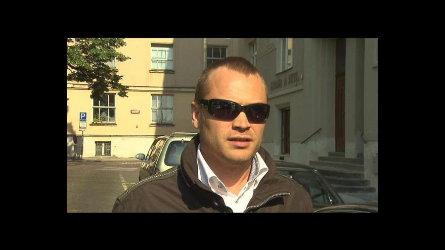 Video Adam Černý ve Studiu ČT24