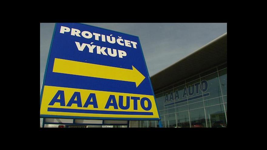 Video AAA Auto a český trh ojetin