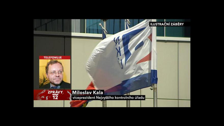 Video Rozhovor s viceprezidentem NKÚ Miloslavem Kalou