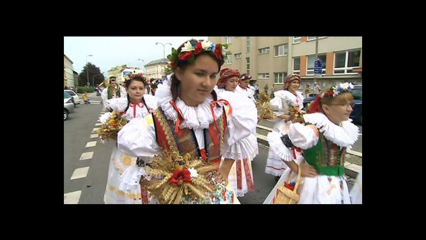 Video NO COMMENT: Dožínkové slavnosti v Kroměříži