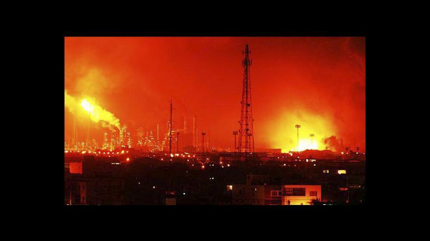 Video Záběry výbuchu z Venezuely