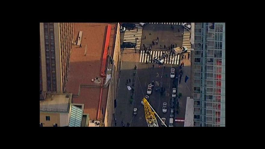 Video Před Empire State Building se střílelo