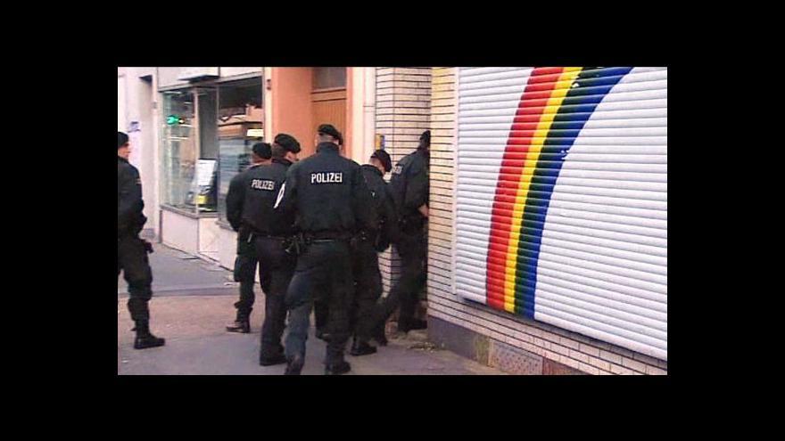 Video Německá policie provedla zátah na neonacisty