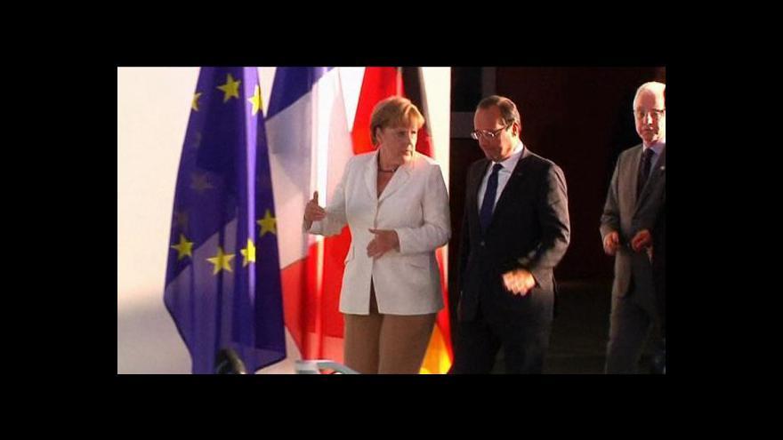 Video Hollande: Je jen na Řecku, zda bude moci zůstat v eurozóně