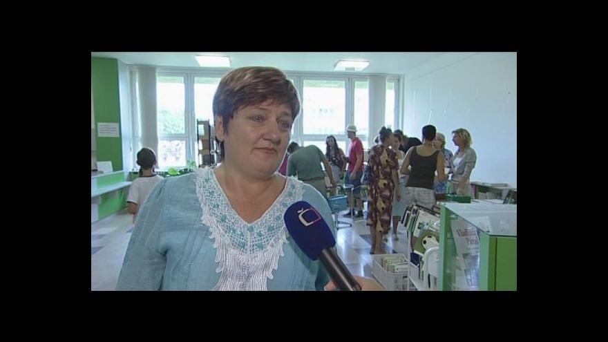 Video Hovoří ředitelka hodonínské knihovny Hana Šimonová