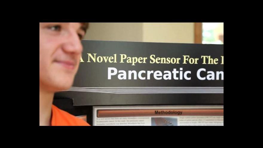 Video Americký student vytvořil test rakoviny slinivky