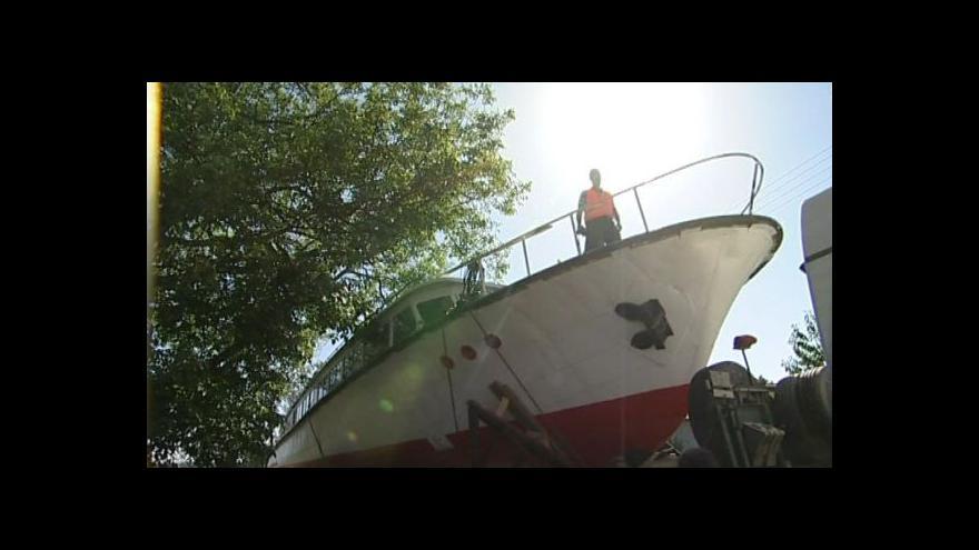 Video Nová výletní loď na Vranově