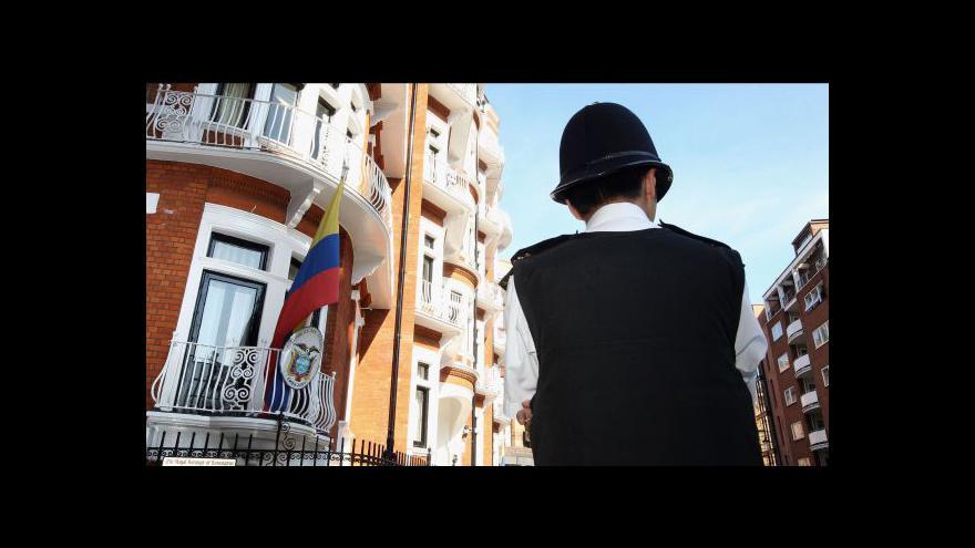 Video Spor o vydání Assange tématem Událostí, komentářů