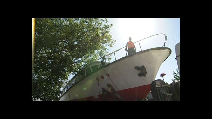 Video No comment: Nová loď bude plout po Vranovské přehradě