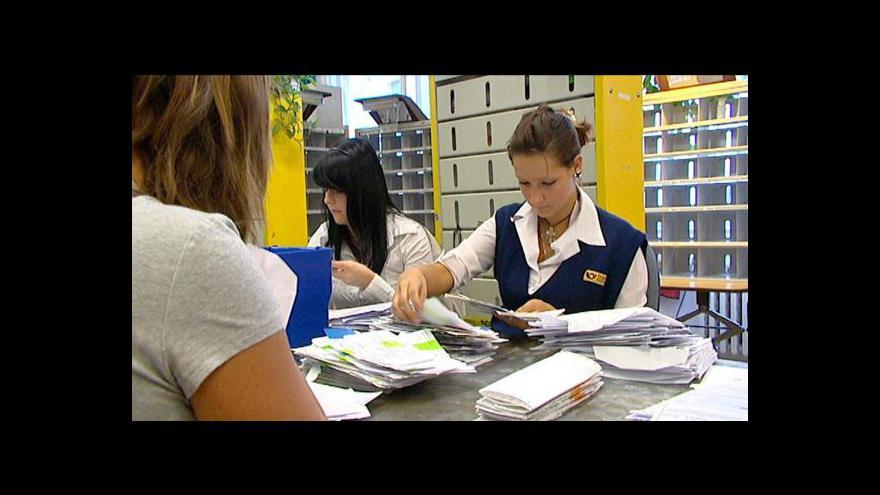 Video Rušení poštovních poboček tématem Událostí