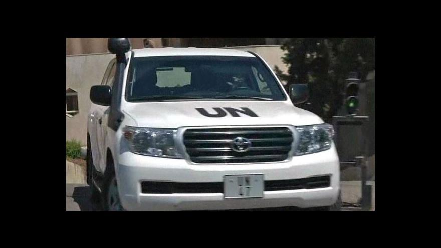 Video Skončila syrská mise OSN