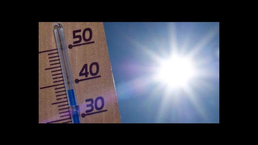 Video Extrémní vedra tématem Událostí