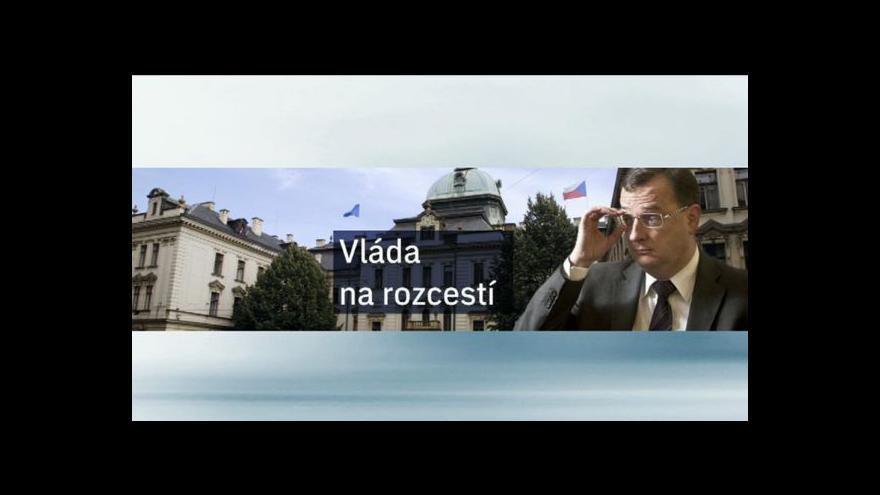 Video Plán vlády tématem Událostí ČT