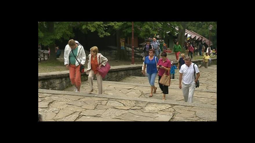 Video NO COMMENT: Mše na Svatém Hostýně
