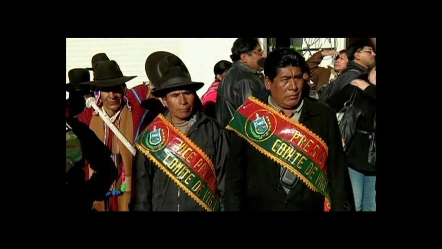 Video Bolívie vzorem pro rozvojové země
