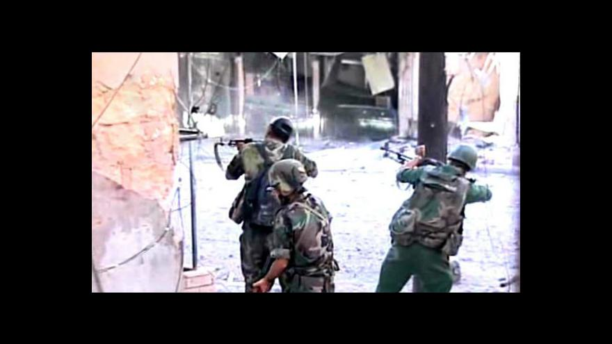 Video Hassan Ezzedine o situaci v Sýrii