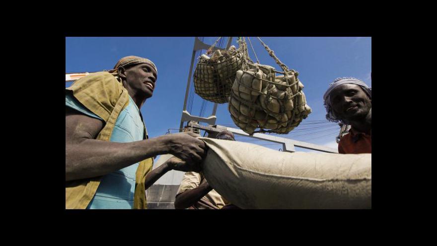 Video Somálská burza