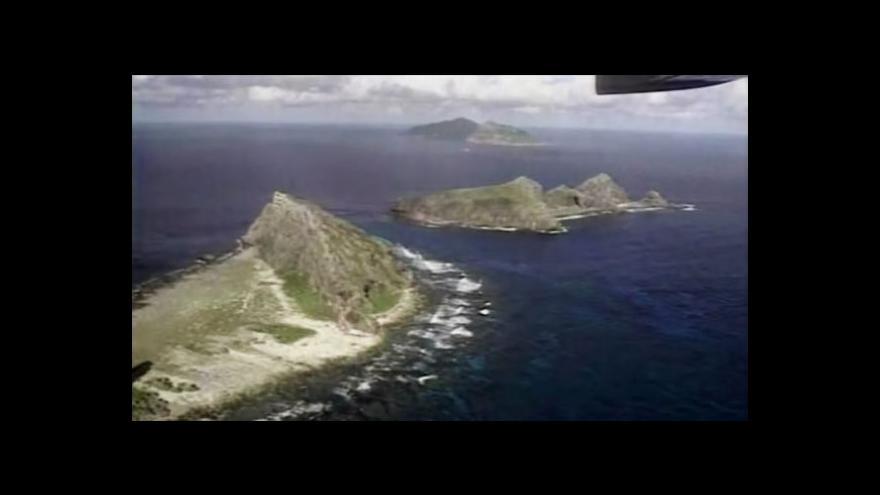 Video Čínsko-japonský spor o ostrovy se vyhrocuje
