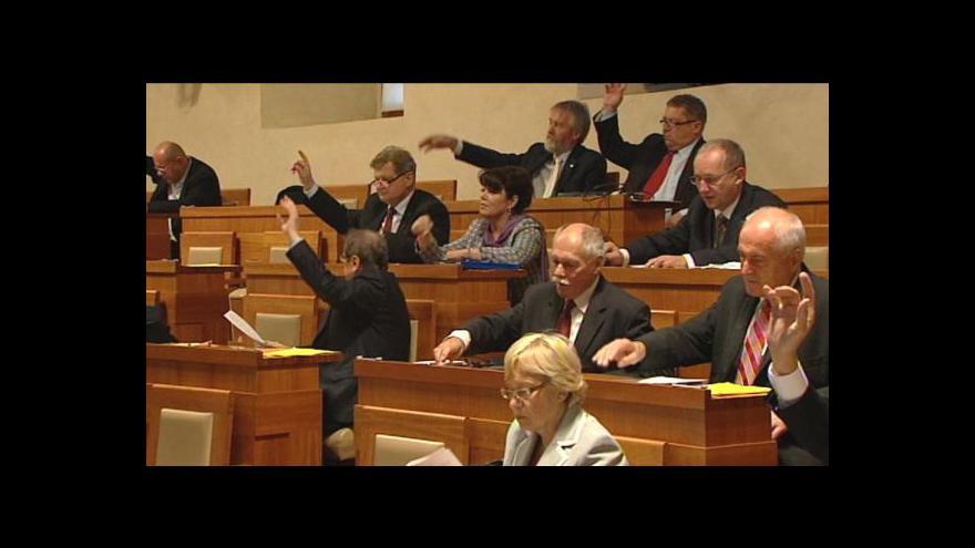 Video Zvýšení DPH v Senátu nejspíš neprojde