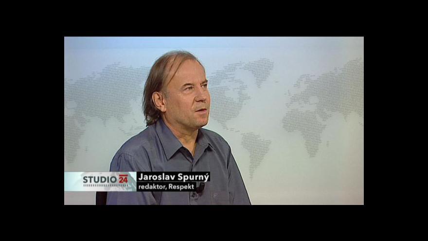 Video Rozhovor s redaktorem Respektu Jaroslavem Spurným