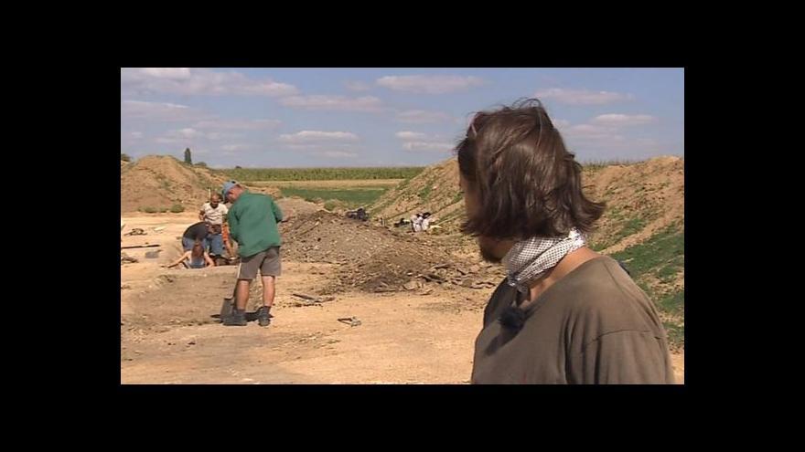 Video Vedoucí archeolog David Humpola