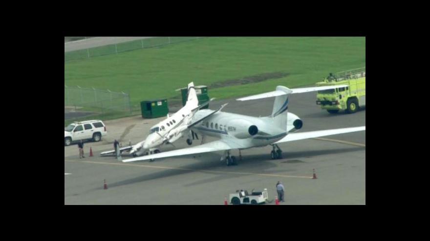 Video Kolize letadel v Nashvillu