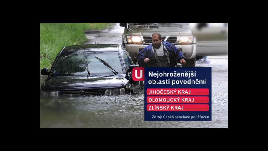 Video Povodňová mapa