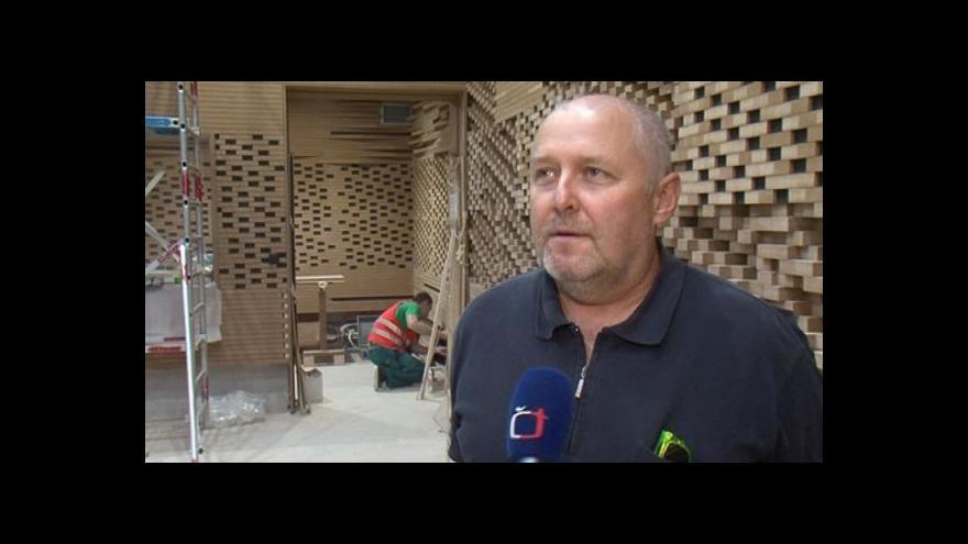 Video Projektant Pavel Rada hovoří o novém studiu