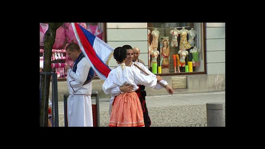 Video Folklor bez hranic v Ostravě