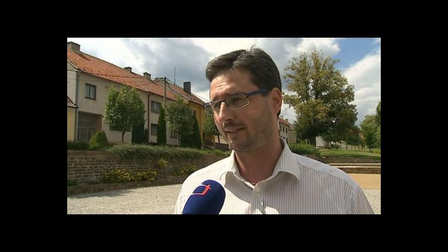 Video Hovoří starosta Strání-Květné Ondřej Benešík