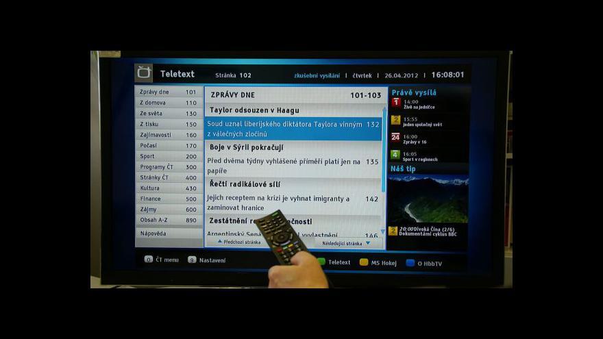 Video Hybridní aplikace ČT použilo během olympiády 10 tisíc domácností