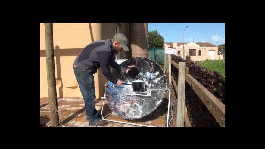 Video Ekologický dům v Kapském Městě