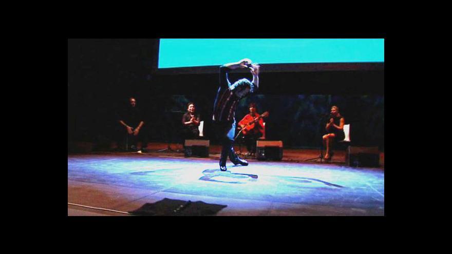 Video Colores Flamencos v Ostravě