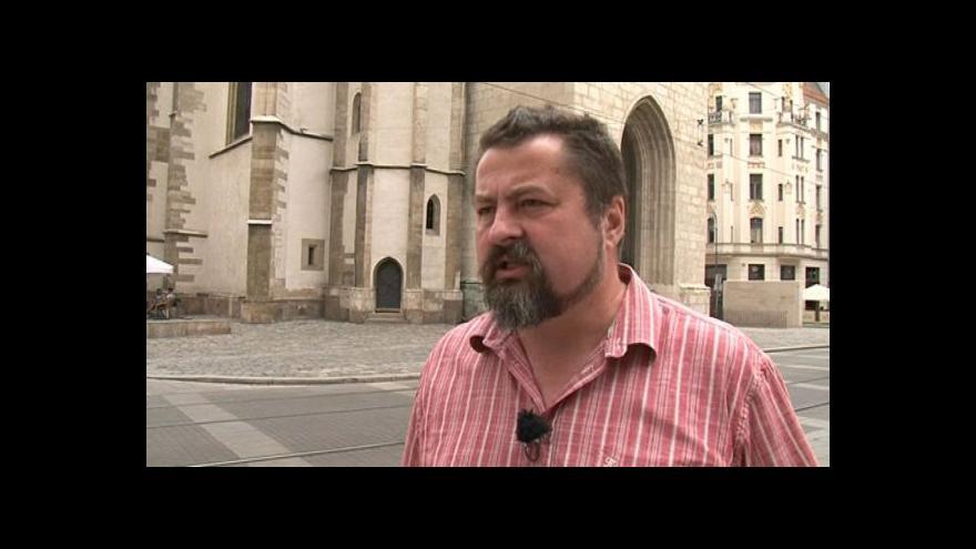 Video O významu kostela hovoří historik Libor Jan