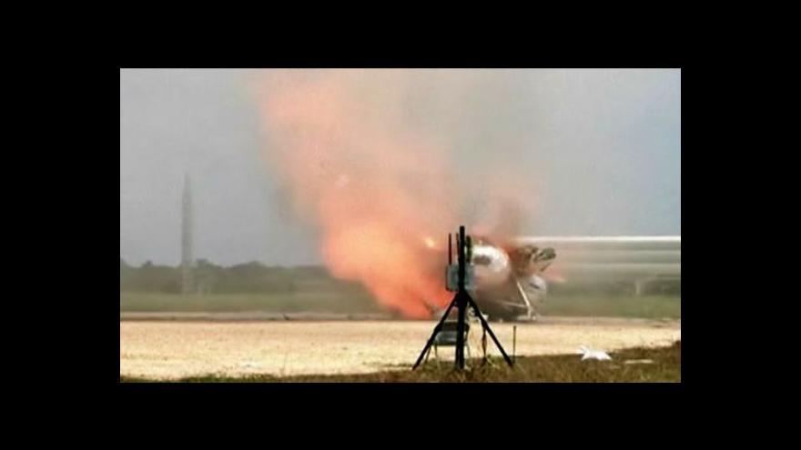 Video NC: Výbuch modulu Morpheus