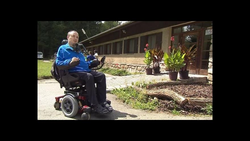 Video Miroslav Ryšánek o tom, jak skončil na vozíku