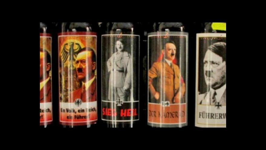 Video V Itálii prodávají víno s Hitlerem