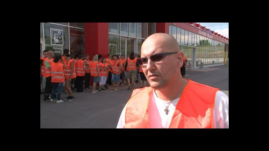 Video Propuštěný zaměstnanec Petr Svoboda
