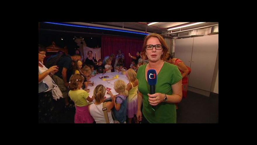 Video Reportáž Petry Sasínové