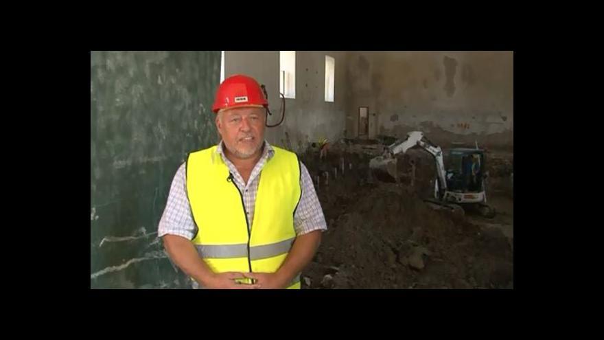 Video O nálezech hovoří starosta Lednice Libor Kabát (nez.)