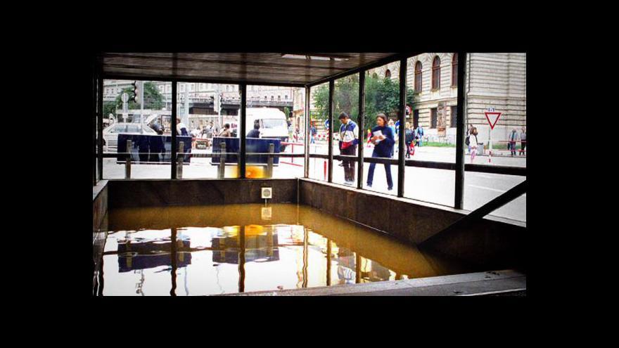 Video Srpnová povodeň v metru