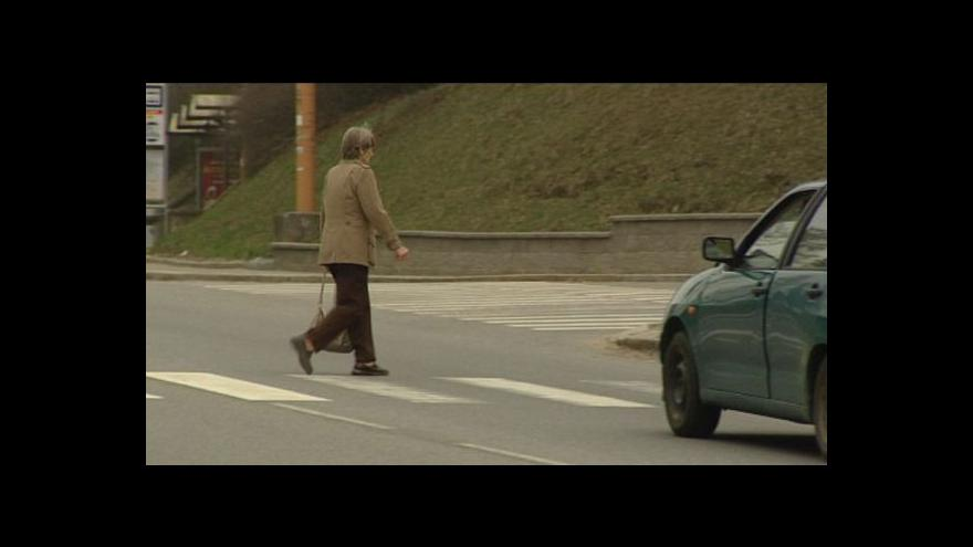 Video Nebezpečné přechody v některých českých městech
