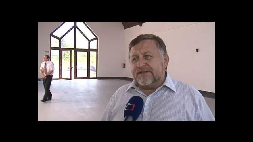 Video O kapli hovoří starosta Újezdu Jan Hradil (nez.)