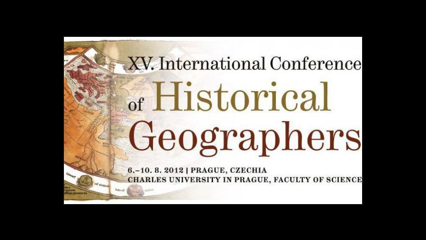Video Zahájení výstavy historické geografie