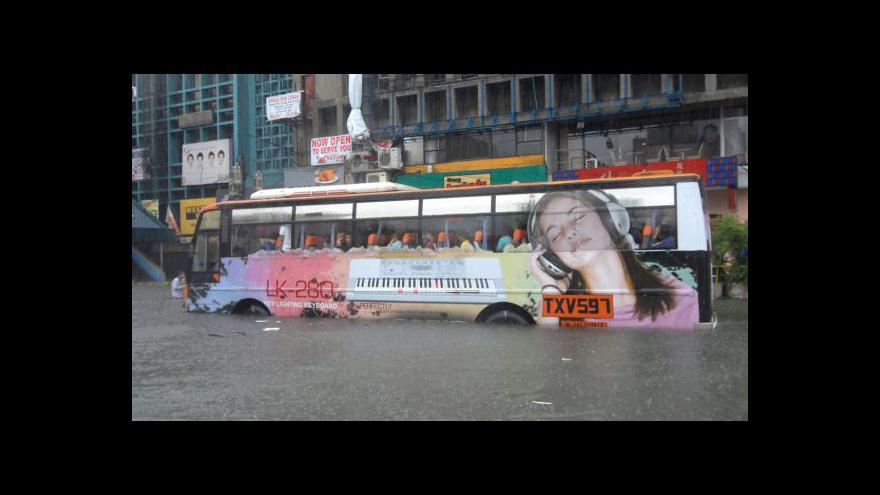 Video Manilu ohrožují lijáky