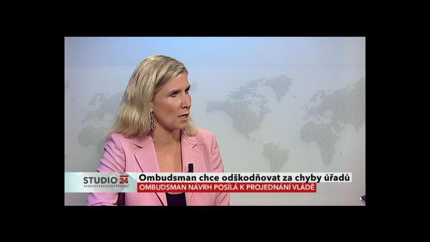 Video Rozhovor s Kateřinou Valachovou