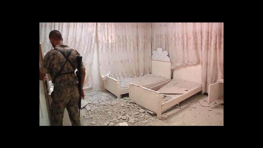 Video Pokračují boje o Halab